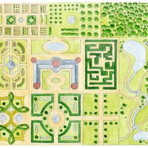 Garden Plan Sketch