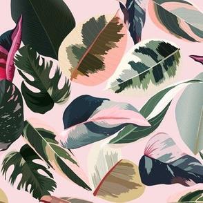 Lush Tropicals // Rose Pink
