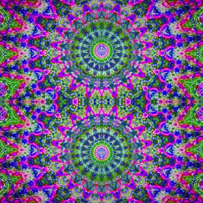 Mandala Of Many Colors #3