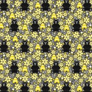 Bear & Bees (Extra Small)