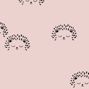 Hedgehog Dusty Pink