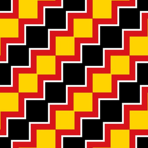 Richmond Colors: Squares - Diagonal Zing