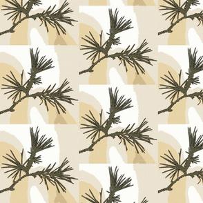 Cartoon Pine (square)