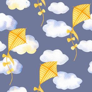 Watercolor Kite