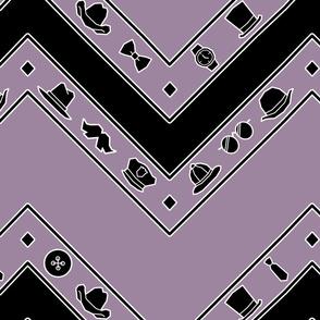 Lilac Geo Haberdashery