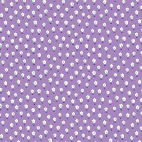 Ditsy Flower purple