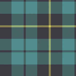 "Wallace hunting tartan, 12"" faded"