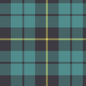"Wallace hunting tartan, 10"" faded"