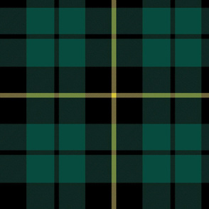 "Wallace hunting tartan, 10"" muted"