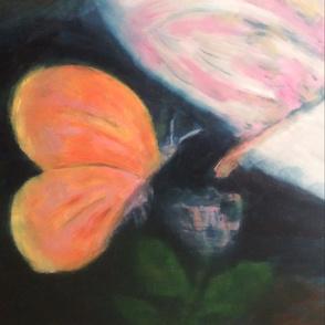 Art is Heart Butterfly Fabric