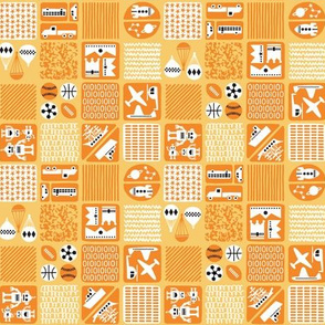 Boys' Treasure Box Orange Small