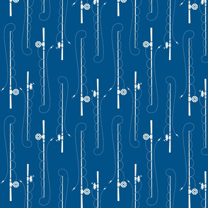 Fishing poles (005289)