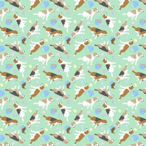 Tiny Beagles - Easter