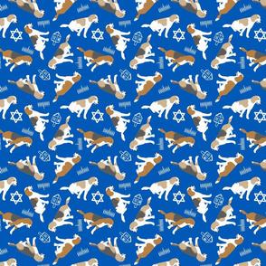 Tiny Beagles - Hanukkah
