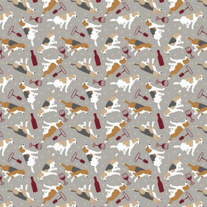 Tiny Beagles - wine