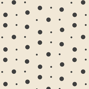 Spots & Dots #2 - stone, medium