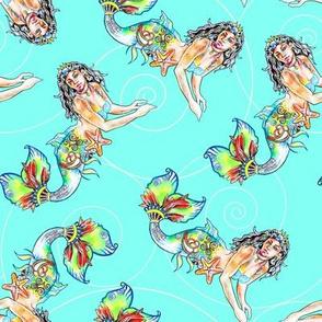 Island Mermaid Turquoise 2