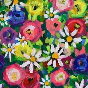 The Garden Daisies