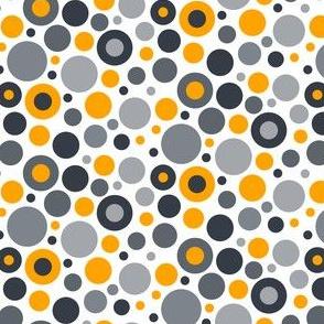 Dots_Grey & Orange
