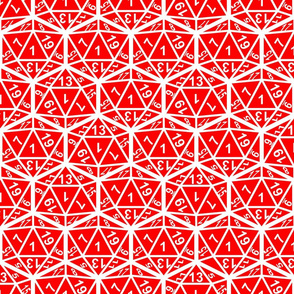 d20 all 1s red