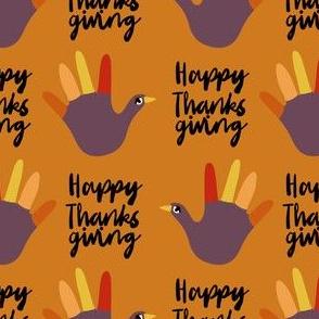 happy thanksgiving - funny hand, thanksgiving, kids thanksgiving craft, art teacher, school, kids - mustard