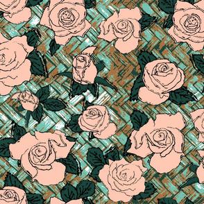 Limited color floral