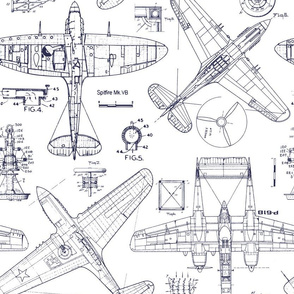 Airplane Patent Drawings