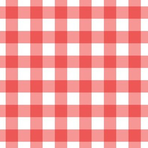 watermelon red gingham bright red christmas wrap fun christmas wrapping paper