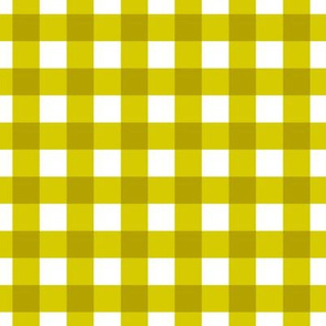 citron gingham plain check plaid