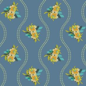 Vintage Floral Blue-01