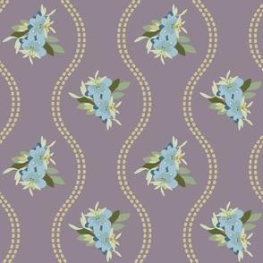 Vintage Floral Dusty Lilac-01