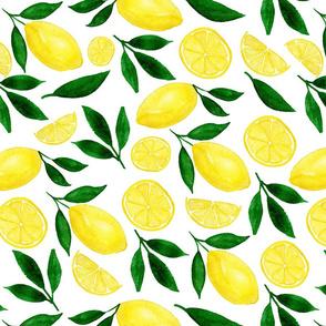 Citrus Lemon Print