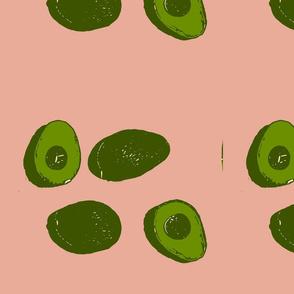 avocado pink