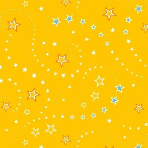 Circus Stars Yellow - small scale