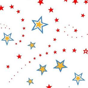 Circus Stars White - small-medium scale