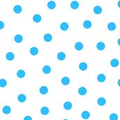 Happy Blue Polka Dots