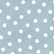 Happy White Polka Dots On Gray