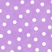 Happy White Polka Dots On Lavender