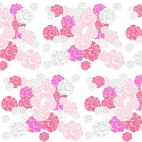 rose blooms - pink LG105
