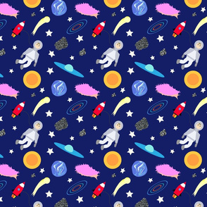 Space Boy Travel
