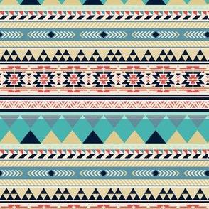 Santa Fe Festival Boho Geometric Tribal Pattern