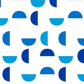 Mega Wedges in Blue