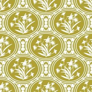 Rudbeckia Gold White Geo-01