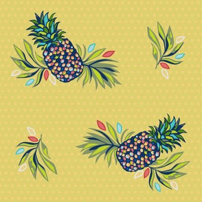 Pineapple Princess - Large print
