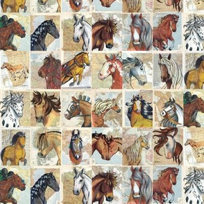 Horses of the World Pattern