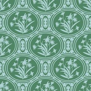 Rudbeckia Green Aqua Geo-01