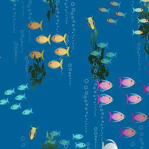 My Aquarium in dark blue Paducaru