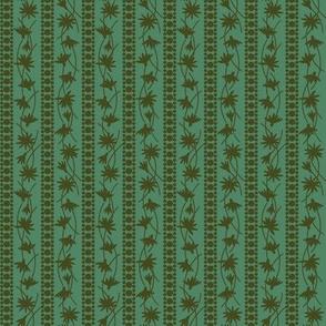 Rudbeckia Green Olive Stripe 2-01
