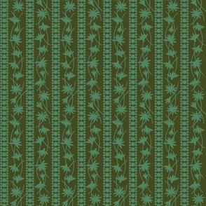 Rudbeckia Olive Green Stripe 2-01