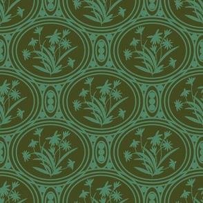 Rudbeckia Olive Green Geo-01